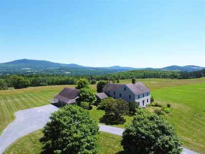 Caledonia County Single Family Home For Sale: 2266 Darling Hill Road