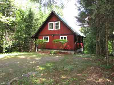Haverhill NH Single Family Home For Sale: $129,000
