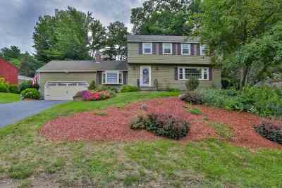 Nashua NH Single Family Home For Sale: $359,900