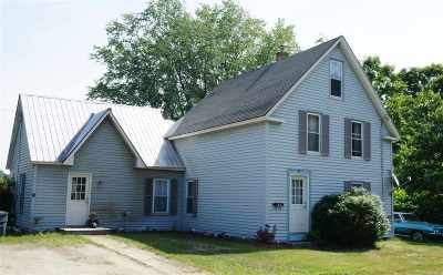 Haverhill NH Single Family Home For Sale: $115,000