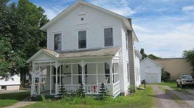 Poultney Single Family Home For Sale: 227 Church Street Avenue