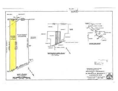 Landaff Residential Lots & Land For Sale: Map 4 - Lot 15b Jim Noyes Hill Road