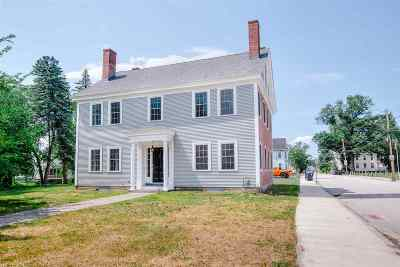 Nashua Single Family Home For Sale: 7 Amherst Street