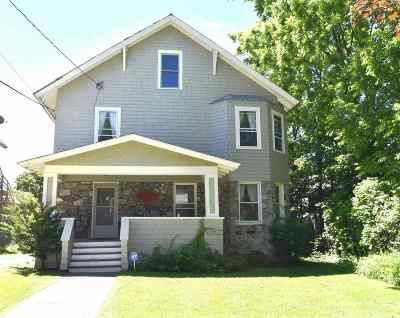 Rutland, Rutland City Single Family Home For Sale: 20 Washington Street