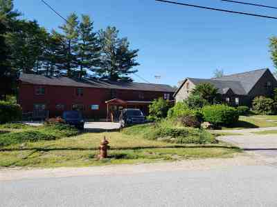 Campton NH Commercial Active Under Contract: $599,900