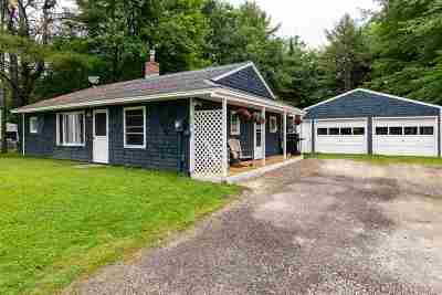 Hinesburg Single Family Home For Sale: 669 Birchwood Drive