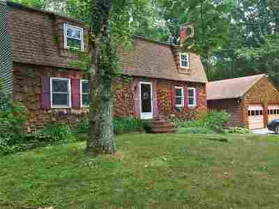 Merrimack Single Family Home For Sale: 15 Mathew Drive