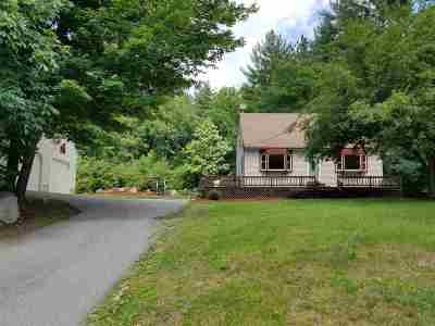 Merrimack Single Family Home Active Under Contract: 43 Amherst Road