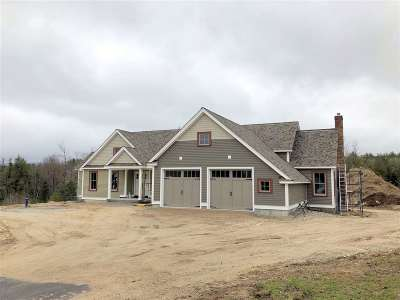 Carroll County Single Family Home For Sale: 14 Farm Pond Road #Lot 5
