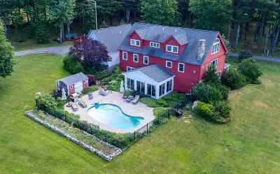 Wolfeboro Single Family Home For Sale: 44 Trask Mountain Road
