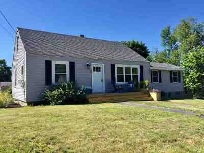 Pembroke Single Family Home Active Under Contract: 215 Pembroke Hill Road