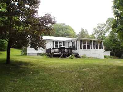 Littleton NH Single Family Home For Sale: $159,500