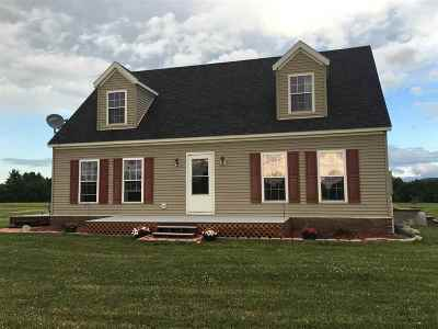 Panton Single Family Home For Sale: 165 Vt Route 22a