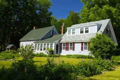 Merrimack County Single Family Home For Sale: 77 Wilmot Center Road
