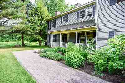 Stowe Single Family Home For Sale: 1394 Stowe Hollow Road