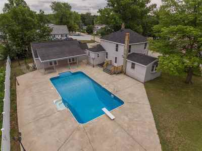 Hudson Single Family Home Active Under Contract: 17 Riverside Avenue