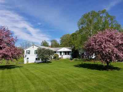 Bath Single Family Home For Sale: 4 Pebbles Farm Road Road