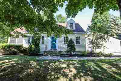 Milford Single Family Home For Sale: 136 Federal Hill Road
