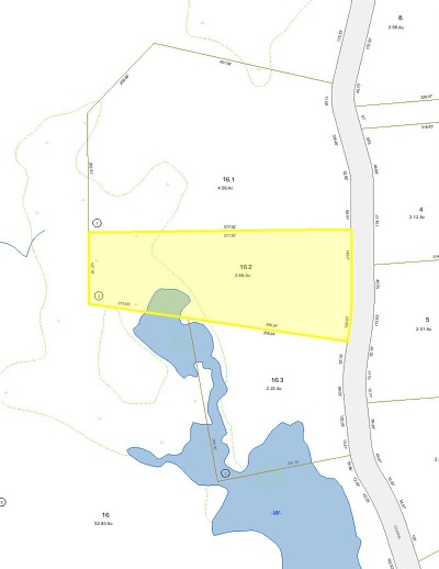 Moultonborough Residential Lots & Land For Sale: 16.2 Gilman Point Road