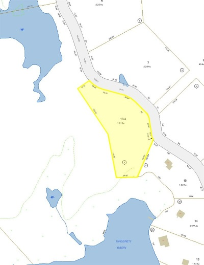 Moultonborough Residential Lots & Land For Sale: 16.4 Gilman Point Road #16.4