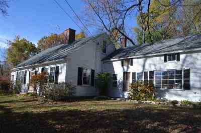 Henniker Single Family Home Active Under Contract: 43 Old West Hopkinton Road