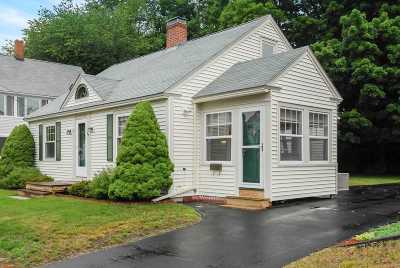 Somersworth Single Family Home Active Under Contract: 59 South Street