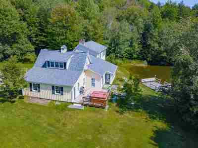 Stowe Single Family Home For Sale: 118 Bull Moose Ridge Road