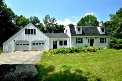 Gilford Single Family Home For Sale: 707 Belknap Mountain Road