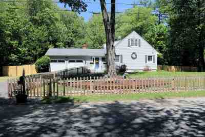 Merrimack Single Family Home Active Under Contract: 12 Cabot Road