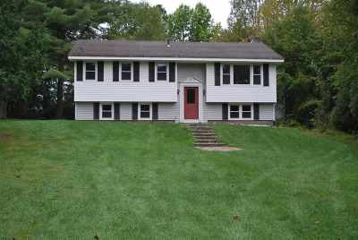 Leicester Single Family Home Active Under Contract: 733 Cram Road