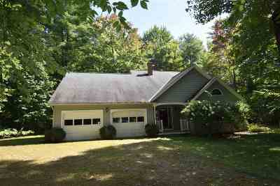 Pittsford Single Family Home For Sale: 177 Woodland Drive