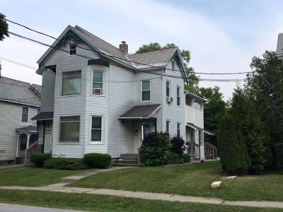 Rutland, Rutland City Multi Family Home For Sale: 117 River Street