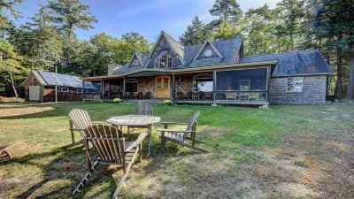 Belknap County Single Family Home For Sale: 16 Camp Island