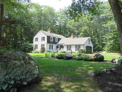 Exeter Single Family Home Active Under Contract: 22 Colonial Way