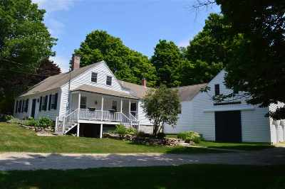 Carroll County Single Family Home For Sale: 5 Trask Mountain Road
