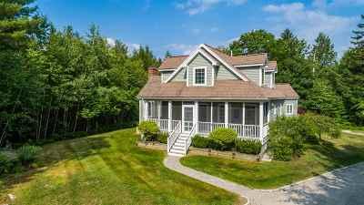 Hebron Single Family Home Active Under Contract: 51 Bear Mountain Road