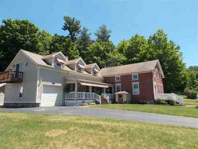 Highgate Single Family Home For Sale: 574 Carter Hill Road