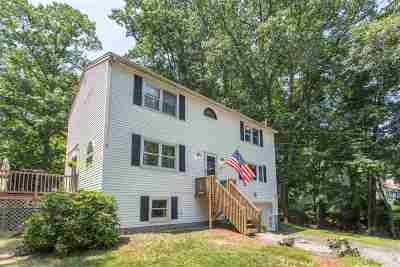 Hooksett Single Family Home Active Under Contract: 22 Joanne Drive