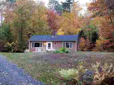 Franconia Single Family Home For Sale: 90 Toad Hill Road