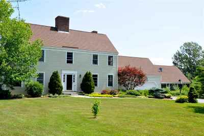 Middlebury Single Family Home For Sale: 888 Three Mile Bridge Rd. Road