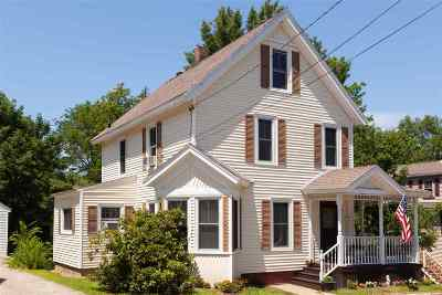 Somersworth Single Family Home For Sale: 7 Lincoln Street
