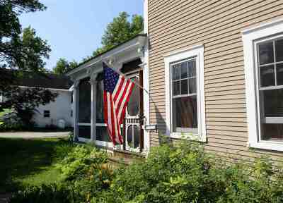 Rutland City VT Single Family Home For Sale: $120,000