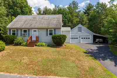 Somersworth Single Family Home Active Under Contract: 9 Ron Wyn Drive