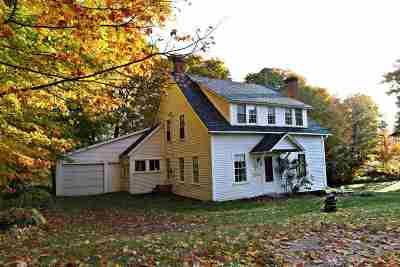 Caledonia County Single Family Home For Sale: 110 Macks Mountain Road