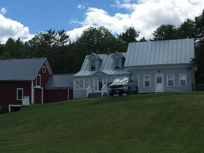Caledonia County Single Family Home For Sale: 263 Witherspoon Road