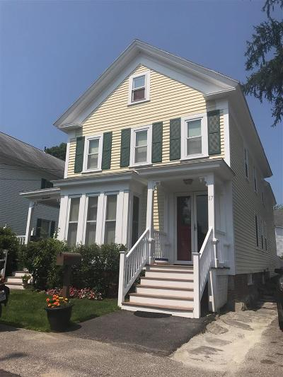 Exeter Single Family Home For Sale: 17 River Street