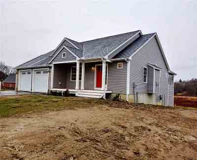 Somersworth Single Family Home Active Under Contract: Lot 85 Sunningdale (Lot 86) Drive