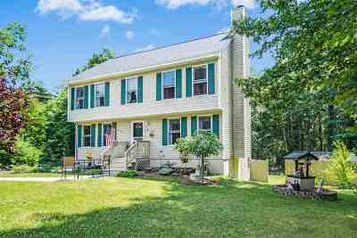 Salem Single Family Home For Sale: 21 Cluff Road