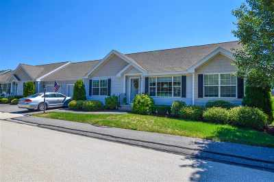 Hooksett Condo/Townhouse Active Under Contract: 4 Dogwood Drive