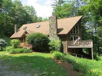 Caledonia County Single Family Home For Sale: 236 Chamberlain Ln #B-11